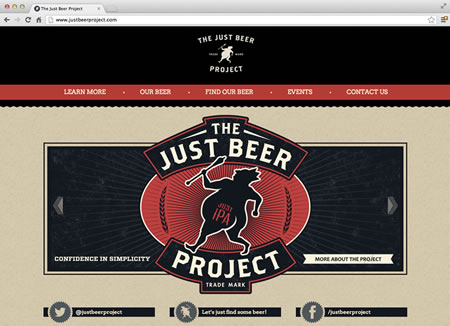 justbeerproject.comm screenshot