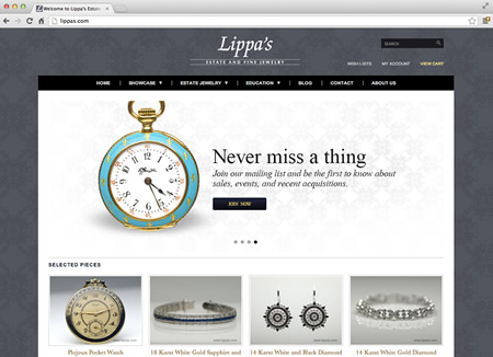 lippas.com screenshot