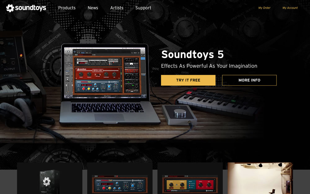 soundtoys.com screenshot