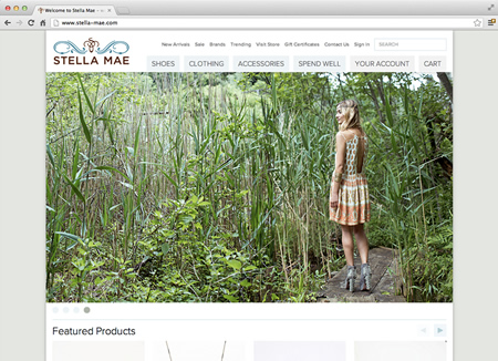 stella-mae.com screenshot