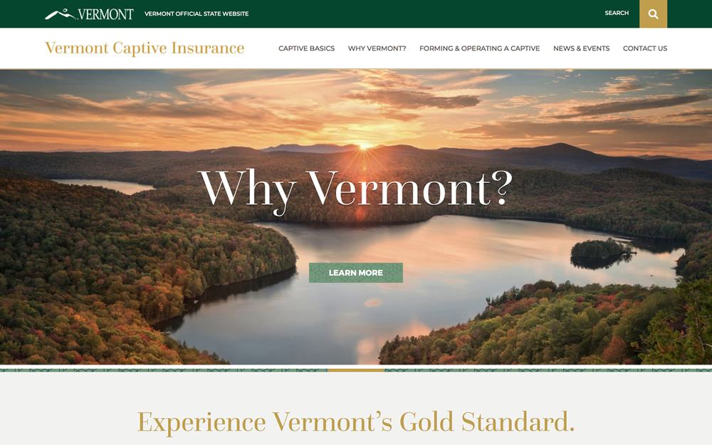 vermontcaptive.com screenshot